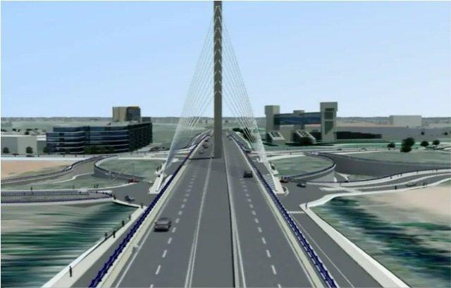 Casablanca va se doter d une entr e majestueuse sidi ma rouf info - Premier pont a haubans ...