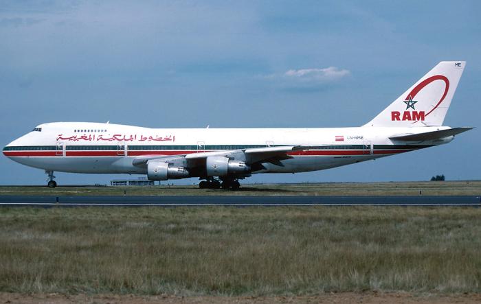Royal_Air_Maroc_Boeing_747-200BM_CN-RME_CDG_Jul_1996