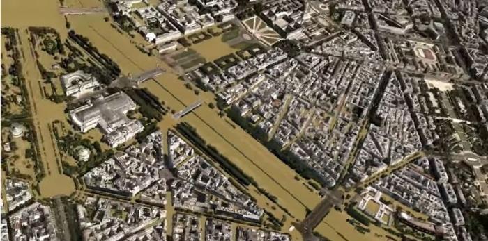 160315 Challenges Animation 3D crue centenale à Paris