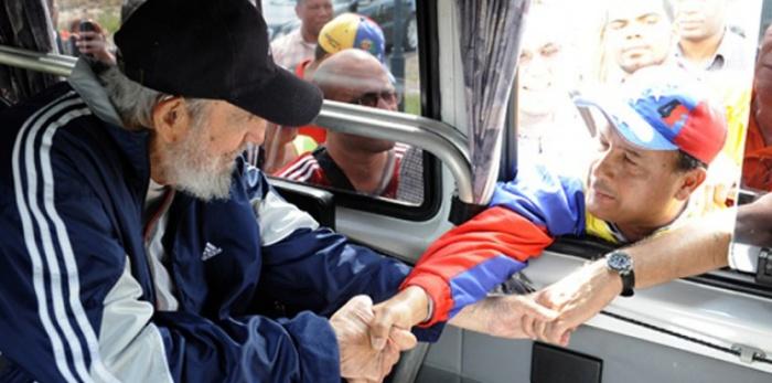 CUBA-VENEZUELA-POLITICS-CASTRO