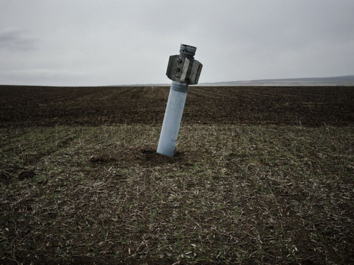 TOPSHOTS-UKRAINE-RUSSIA-CRISIS-MINES